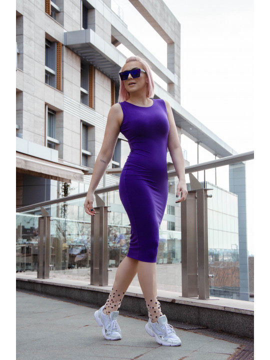 BASIC DOUBLE LYCRA DRESS